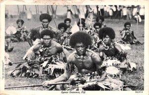 Spear Dancers Fiji Postal Used Unknown, Missing Stamp