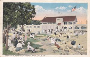 FAIRHAVEN, Massachusetts, PU-1919; Bath House, Fort Phoenix Beach