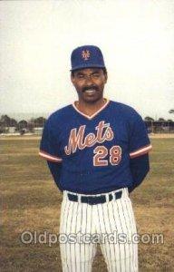 Bill Robinson, Coach Mets Baseball Unused