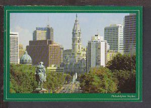 Skyline Philadelphia PA Postcard BIN