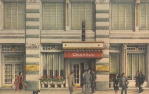 NEW YORK CITY, 1964 ; Charles French Restaurant ; 6th Ave & 10th Street
