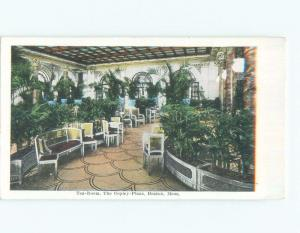 Unused W-Border COPLEY PLAZA TEA ROOM RESTAURANT Boston Massachusetts MA E8316