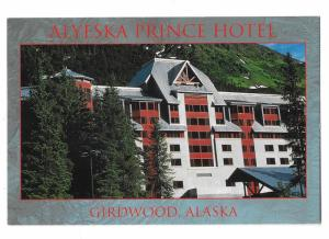 Alyeska Prince Hotel Girdwood Alaska 4 by 6 Card