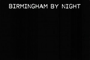 NEW Postcard, Birmingham by Night, Humor, Novelty, Fun, Funny DM6