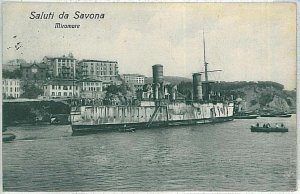 28327    CARTOLINA d'Epoca - SAVONA Città MIRAMARE 1922