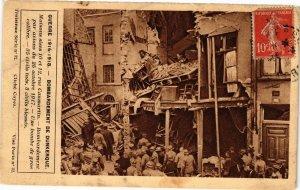 CPA Guerre 1914-1918 Bombardement de DUNKERQUE Maisons sises 10 et 12 (205420)
