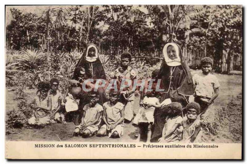 Mission of Solomon Septentrionales - Auxiliary Precieuses of Missionary - chi...