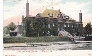LEBANON , Pennsylvania, PU-1909 ; Good Samaritan Hospital