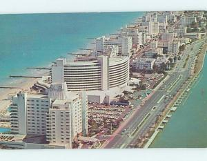 Pre-1980 EDEN ROC HOTEL & OTHER HOTELS BEHIND Miami Beach Florida FL B2140
