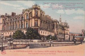 France St Germaine-en-Laye Le Chateau