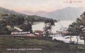 The Pier, TARBET, Loch Lomaond, Dunbartonshire, Scotland, United Kingdom, 00-10s