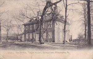 The Stenton Logan House Germantown Philadelphia Pennsylvania