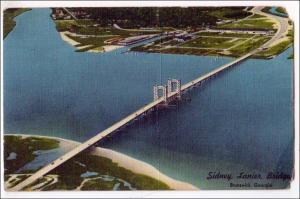 Sidney Lanier Bridge, Brunswick GA
