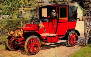 Postcard, Vintage Car 1908 12/14hp UNIC Taxicab, Montagu Motor Museum 77S