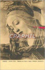 Postcard Old Florence Uffizi Gallery