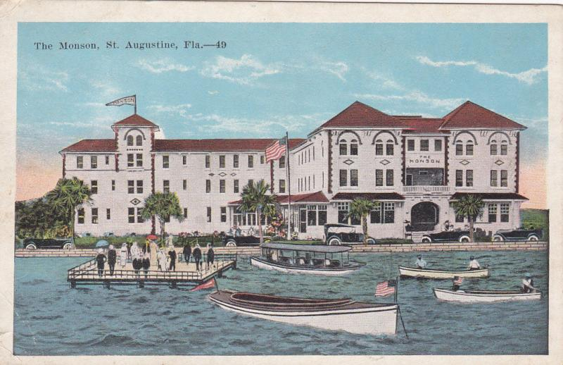 ST. AUGUSTINE, Florida, 1900-1910s;  The Monson Hotel