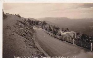 Oklahoma Broadmoor Cheyenne Highway Real Photo RPPC