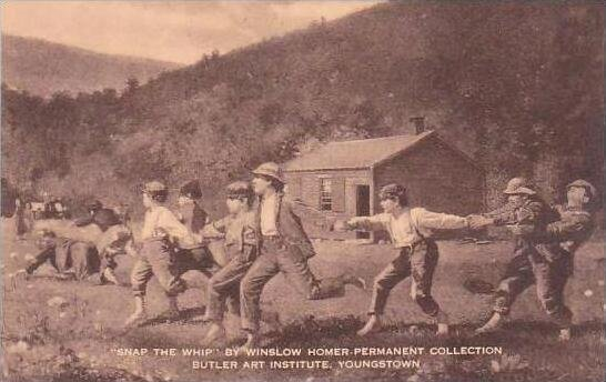Washington Youngstown Snap The Whip By Winslow Homer Permanent Collection But...