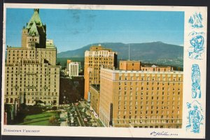 British Columbia ~ Downtown VANCOUVER pm1976 - Chrome 1950s-1970s