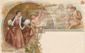 BREMEN, Germany , 1890s ; Phantasien (Ghost) im Bremer Rathskeller ; #1
