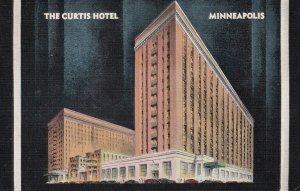 MINNEAPOLIS , Minnesota , 1930-40s ; The Curtis hotel