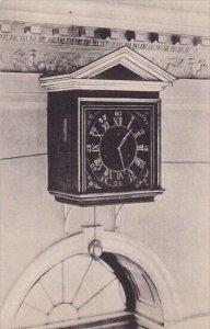 Seven Day Clock In Entrance Hall At Monticello Charlottesville Virginia Alber...