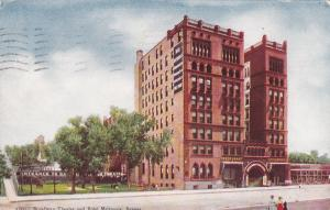 DENVER, Colorado; Broadway Theater and Hotel Metropole, PU-1908