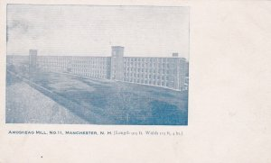 MANCHESTER , New Hampshire , PMC 1898 ; Amoskeag Mill No. 11