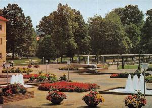 Bad Orb Spessart Brunnen Fountains Promenade