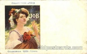 Job Cigarette Advertising Artist P. Gervais Postcard Post Card Unused