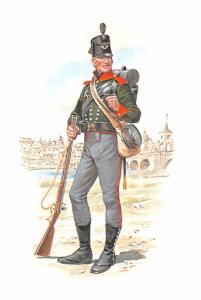 Rifleman - Stadden Uniform Card