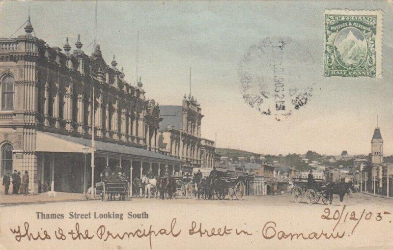 OAMARU ,  New Zealand ,1905 ; Principal Street