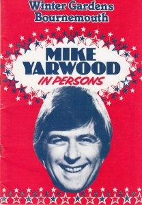 Mike Yarwood Bournemouth Dorset Winter Gardens Vintage 70s Theatre Programme