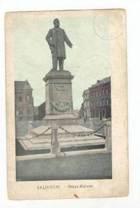 La Louviere.-Statue Mairaux, Belgium, PU 1909
