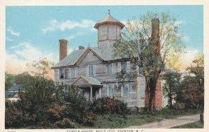 EDENTON, North Carolina, 1900-1910's; Cupola House