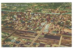 Aerial veiw of Nashville, Tenn