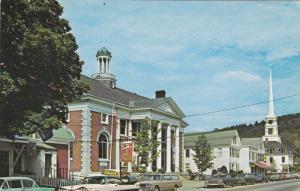 STOWE, Vermont; Main Street, Classic Cars, 40-60s
