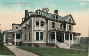 MIDDLETOWN , New York, 1900-10s ; Thrall Hospital