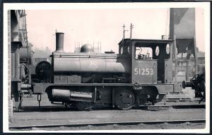 LONDON NORTHWESTERN Railroad Locomotive #51253 RPPC unused