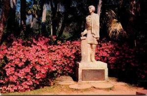 Florida Silver Springs Seminole Indian Chief Osceola Statue