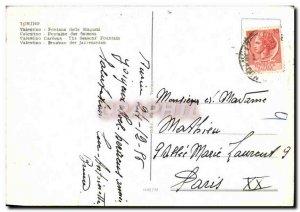Modern Postcard Torino Fontane Delle Stagioni