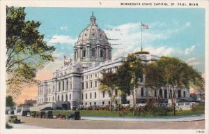 Minnesota Saint Paul Minnesota State Capitol 1930