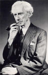 Nostalgia Postcard 1951 British philosopher, Bertrand Russell Repro Card NS12