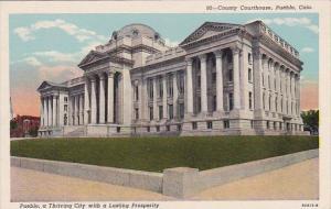 Colorado Pueblo County Courthouse