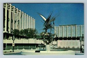 Los Angeles CA- California, Los Angeles Co Museum of Art, Chrome Postcard