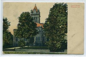 Court House Winamac Indiana 1907 postcard