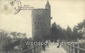 Bruges, Belgium, België, la Belgique, Belgien Pont du Lac d'Amo  Pont du Lac...