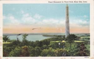 Floyd Monument in Floyd Park,  Sioux City,  Iowa,   PU_1947