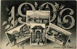 CPA Grenoble - Scenes - Views - 1906 FRANCE (961481)