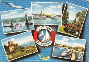 GG14351 Gruss vom Bodensee Meersburg Lindau Friedrichshafen Insel Mainau